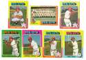 1975 Topps MINI B - CINCINNATI REDS Team Set EX+ Condition
