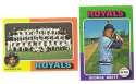1975 Topps MINI B - KANSAS CITY ROYALS Team Set EX+ Condition