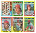 1975 Topps MINI B - CHICAGO WHITE SOX Team Set Overall EX+ Condition