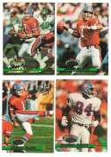 1993 Stadium Club Football Team Set 1-550 - DENVER BRONCOS