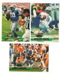 1993 Stadium Club Football Team Set 1-550 - DETROIT LIONS