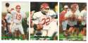 1993 Stadium Club Football Team Set 1-550 - KANSAS CITY CHIEFS
