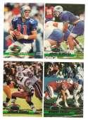 1993 Stadium Club Football Team Set 1-550 - NEW ENGLAND PATRIOTS