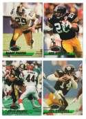 1993 Stadium Club Football Team Set 1-550 - PITTSBURGH STEELERS