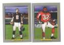 2006 Topps Turkey Red Football Team Set - ATLANTA FALCONS