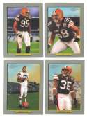 2006 Topps Turkey Red Football Team Set - CLEVELAND BROWNS