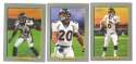 2006 Topps Turkey Red Football Team Set - DENVER BRONCOS