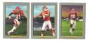 2006 Topps Turkey Red Football Team Set - KANSAS CITY CHIEFS