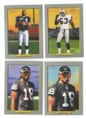 2006 Topps Turkey Red Football Team Set - OAKLAND RAIDERS