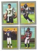 2006 Topps Turkey Red Football Team Set - SAN DIEGO CHARGERS