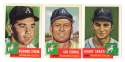 1953 Topps Archives (Reprints) - PHILADELPHIA ATHLETICS / A'S Team Set