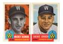 1953 Topps Archives (Reprints) - WASHINGTON SENATORS (TWINS) Team Set