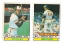 1979 O-Pee-Chee (OPC) - BALTIMORE ORIOLES Team Set