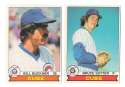 1979 O-Pee-Chee (OPC) - CHICAGO CUBS Team Set
