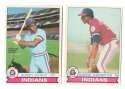 1979 O-Pee-Chee (OPC) - CLEVELAND INDIANS Team Set