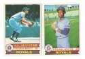 1979 O-Pee-Chee (OPC) - KANSAS CITY ROYALS Team Set