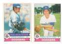 1979 O-Pee-Chee (OPC) - LOS ANGELES DODGERS Team Set
