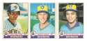 1979 O-Pee-Chee (OPC) - MILWAUKEE BREWERS Team Set