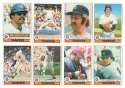 1979 O-Pee-Chee (OPC) - NEW YORK YANKEES Team Set