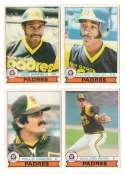 1979 O-Pee-Chee (OPC) - SAN DIEGO PADRES Team Set