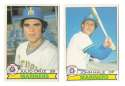 1979 O-Pee-Chee (OPC) - SEATTLE MARINERS Team Set