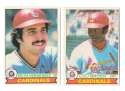 1979 O-Pee-Chee (OPC) - ST LOUIS CARDINALS Team Set