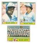 1979 O-Pee-Chee (OPC) - TORONTO BLUE JAYS Team Set