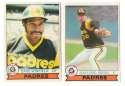1979 O-Pee-Chee (OPC) - SAN DIEGO PADRES Near Team Set w/o Ozzie