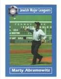 2006 Jewish Major Leaguers Update #54 Marty Abramowitz