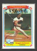 1983 Drake - CALIFORNIA ANGELS Team set