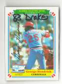 1983 Drake - ST LOUIS CARDINALS Team Set