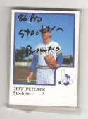 1986 ProCards Minor League Team Set - Stockton Ports (Brewers)