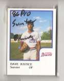 1986 ProCards Minor League Team Set - Sumter BRAVES