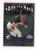 1995 Topps Stadium Club Members Only Crystal Ball - COLORADO ROCKIES Team Set