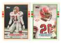 1989 Topps Traded Football Team Set - ATLANTA FALCONS