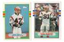 1989 Topps Traded Football Team Set - CINCINNATI BENGALS