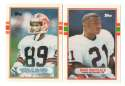 1989 Topps Traded Football Team Set - CLEVELAND BROWNS