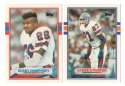1989 Topps Traded Football Team Set - DENVER BRONCOS