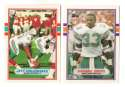 1989 Topps Traded Football Team Set - MIAMI DOLPHINS