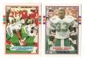 1989 Topps Traded Football Team Set - MIAMI DOLPHINS