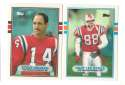 1989 Topps Traded Football Team Set - NEW ENGLAND PATRIOTS