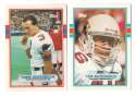 1989 Topps Traded Football Team Set - PHOENIX CARDINALS