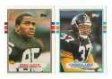 1989 Topps Traded Football Team Set - PITTSBURGH STEELERS
