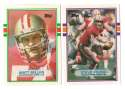1989 Topps Traded Football Team Set - SAN FRANCISCO 49ERS
