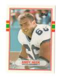 1989 Topps Traded Football Team Set - SEATTLE SEAHAWKS