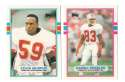 1989 Topps Traded Football Team Set - TAMPA BAY BUCCANEERS