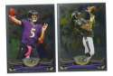 2013 Topps Chrome Football Team Set - BALTIMORE RAVENS