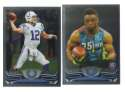 2013 Topps Chrome Football Team Set - INDIANAPOLIS COLTS