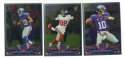 2013 Topps Chrome Football Team Set - NEW YORK GIANTS