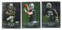 2013 Topps Chrome Football Team Set - OAKLAND RAIDERS